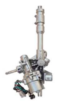 Электрический рулевой механизм с червячным приводом первичного вала